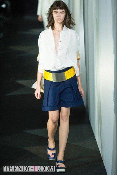 В стиле преппи: рубашка и шорты весна-лето 2014 Acne Studio