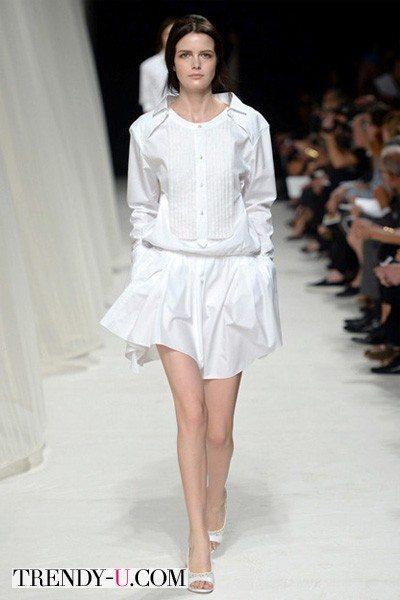 Белые одежды от Nina Ricchi весна 2014