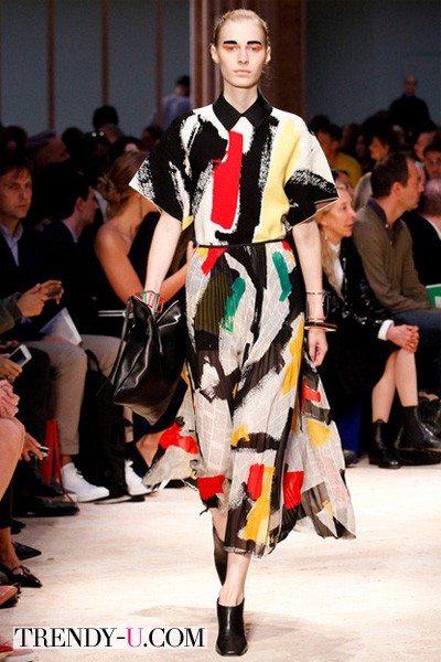 Модные принты весна-лето 2014 от Celine