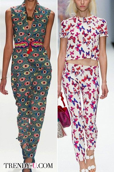 Модные принты весна-лето 2014