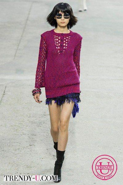 Стильный лук от Chanel 2014