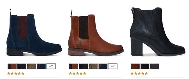 Ботинки Челси женские от бренда Timberland