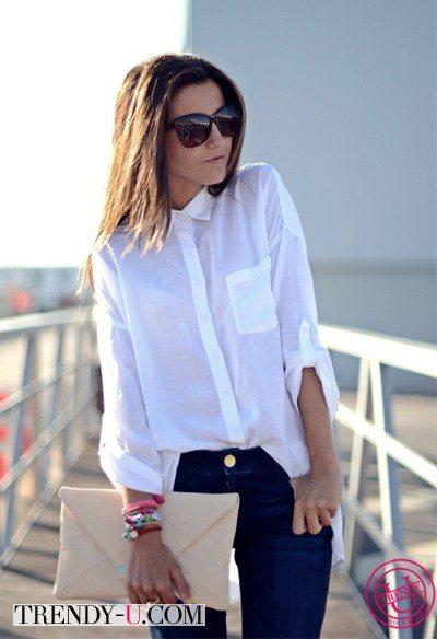 Как модно носить рубашку? - Вот так!