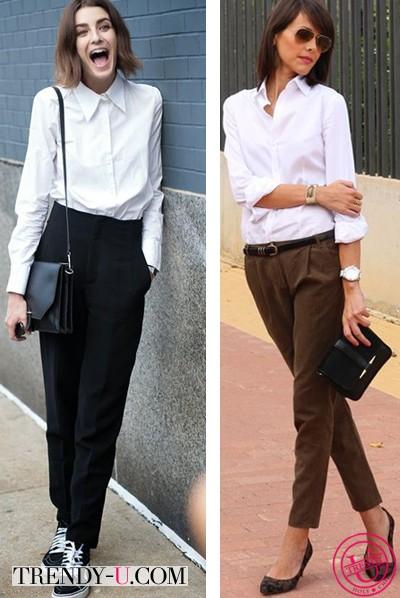 Одна белая рубашка и два образа