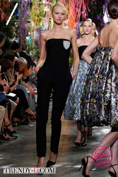 Нарядный комбинезон Dior весна-лето 2014