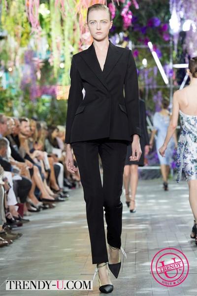 Классический костюм Dior весна-лето 2014