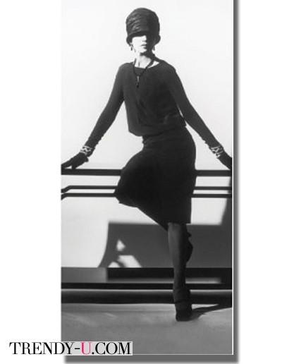 Знаменитое маленькое черное платье Шанель, 1926 г.