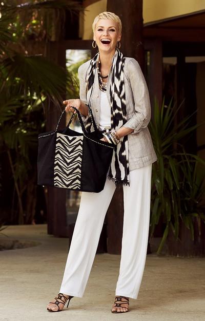 Сорокалетняя модница