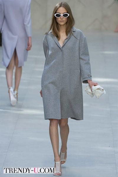 Пальто весна-лето 2014 Burberry