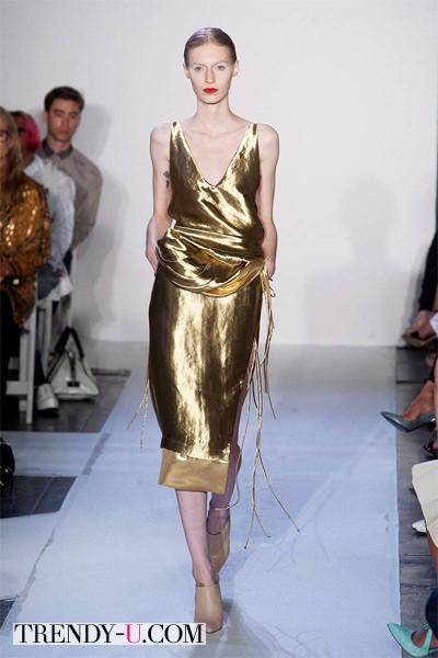 Модное вечернее платье весна-лето 22014 Altuzarra