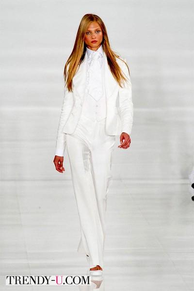 Белый костюм, Ralph Lauren
