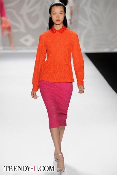 Цвета 2014: кайен и оранжевый