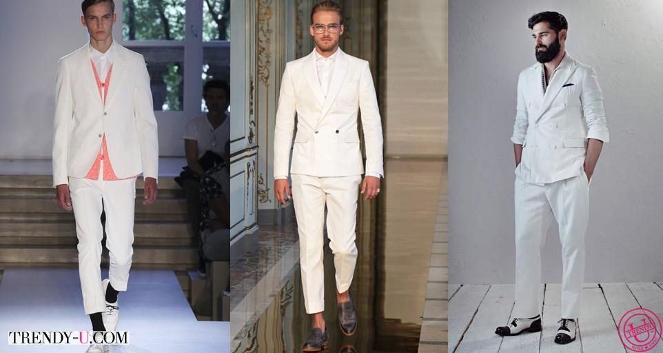 Модные мужские костюмы весна-лето 2014