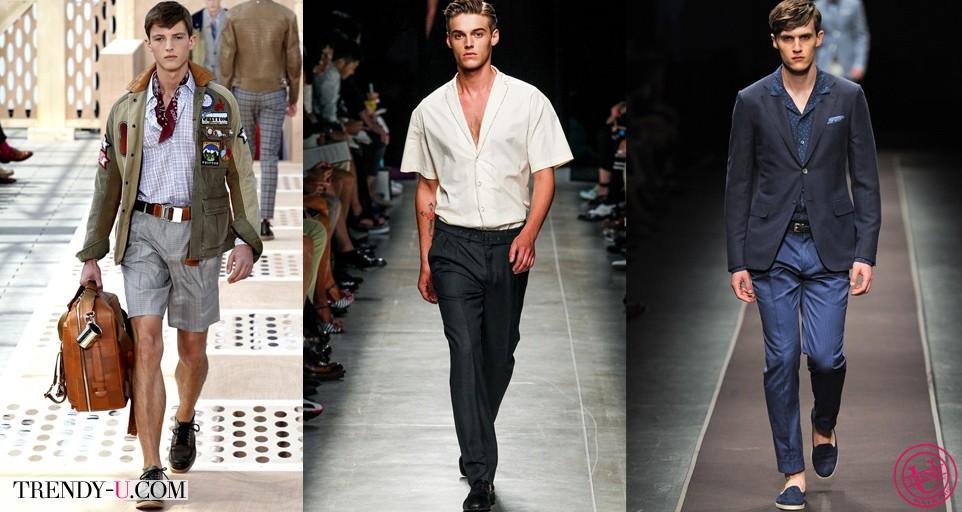 Модная мужская одежда в стиле ретро