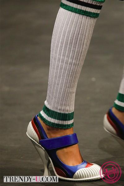 Стильные туфли от Прада 2014