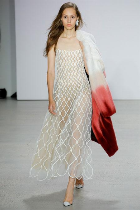 Модное платье на выпускной 2018: образ от Oscar de la Renta