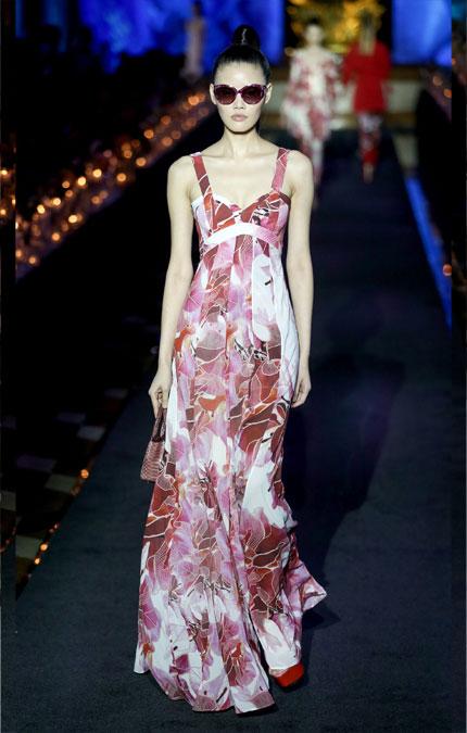 Модное платье на выпускной La Perla весна-лето 2018