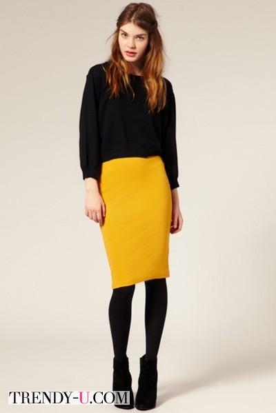 Черный + желтый