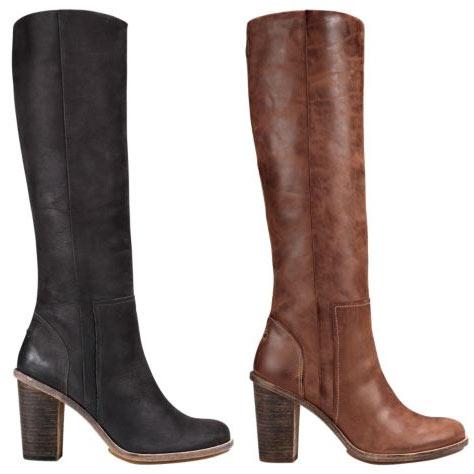 Высокие сапоги женские от бренда Timberland