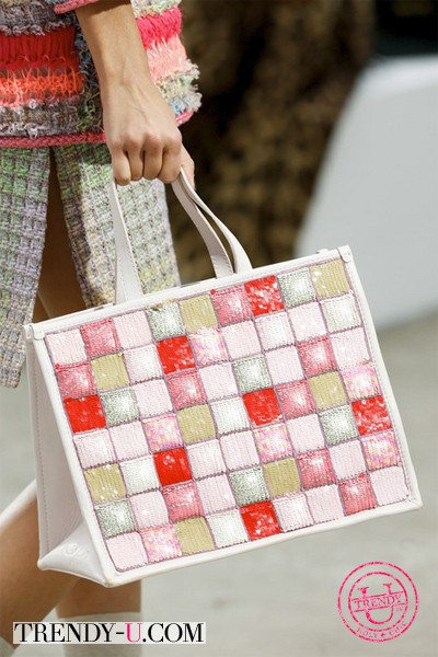 Плетеная сумка из коллекции Шанель 2014