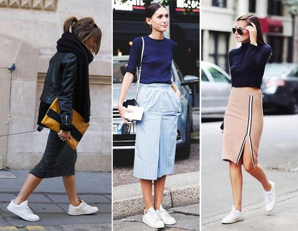 С чем носить юбку-карандаш 17 эффектных образов новые фото