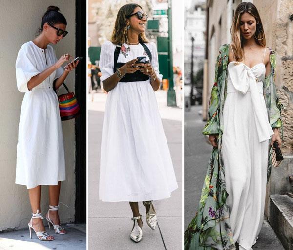 Модницы и красавицы носят белое