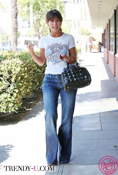 """Идеальные джинсы для фигуры типа """"груша"""""""