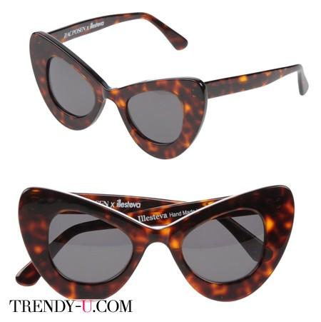 Солнцезащитные очки весна-лето 2014 Zac Posen
