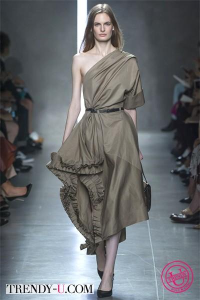 Асимметричное платье-сарафан от Bogetta Veneta