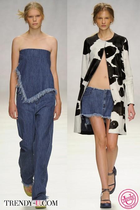Джинсовая одежда 2014