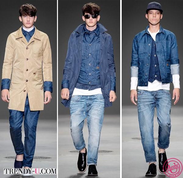 Джинсовая одежда G-Star RAW весна-лето 2014