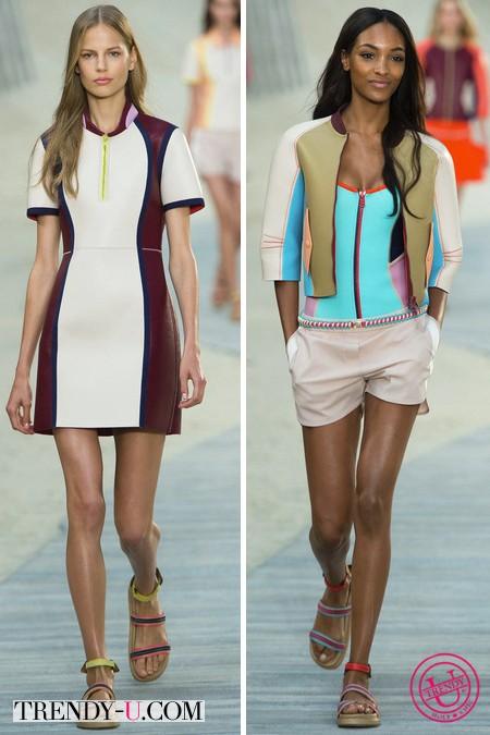 Платье и шорты от Tommy Hilfiger весна-лето 2014