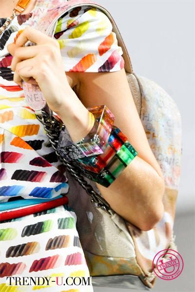 Модные украшения от Chanel 2014