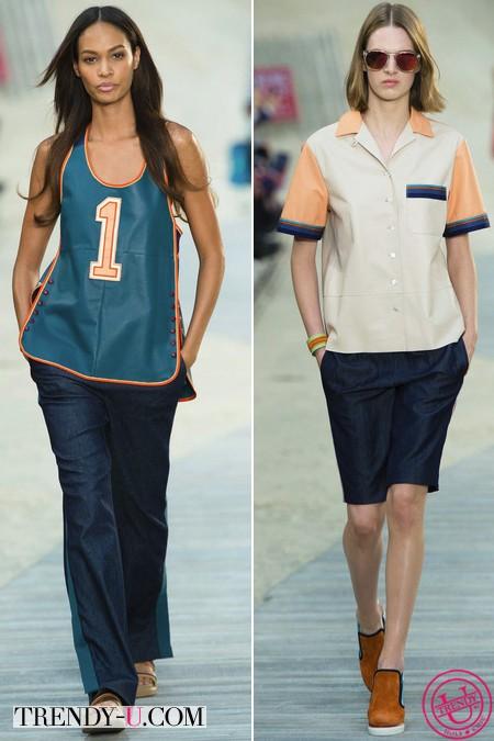 Джинсовые брюки и шорты 2014