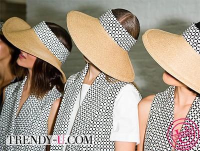 Шляпы с широкими полями от Suno 2014 родом из 50-х