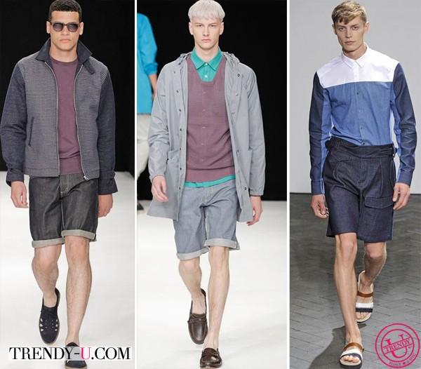 Джинсовые шорты мужские от Wooyoungmi и YMC 2014