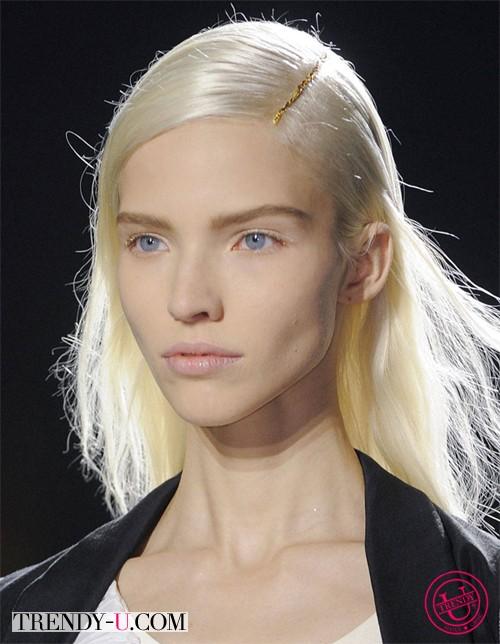 Модная прическа от Dries van Noten SS 2014