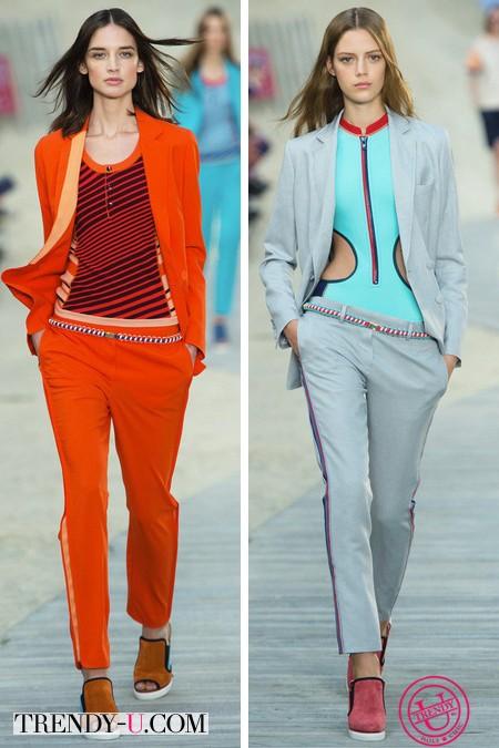 Модная одежда в спортивном стиле весна-лето 2014
