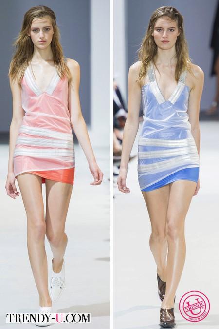 Модные летние платья от Paco Rabanne весна-лето 2014