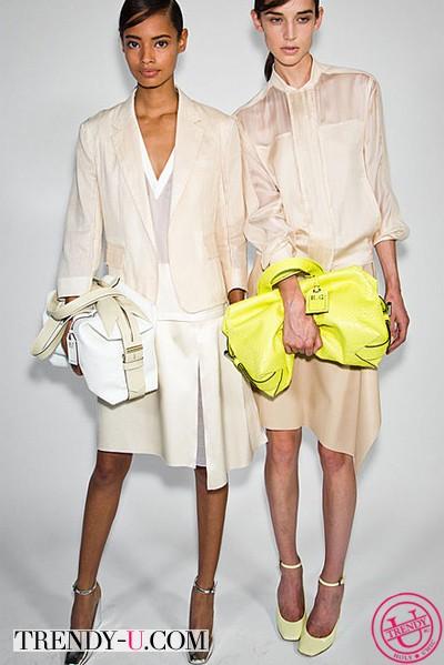 Модные кожаные сумки от Reed Krakov SS 2014