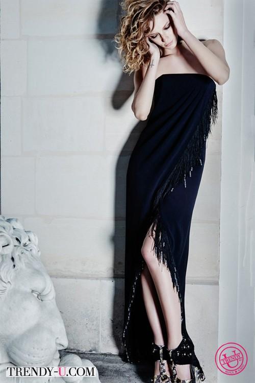 Модный длинный сарафан от Azzaro 2014