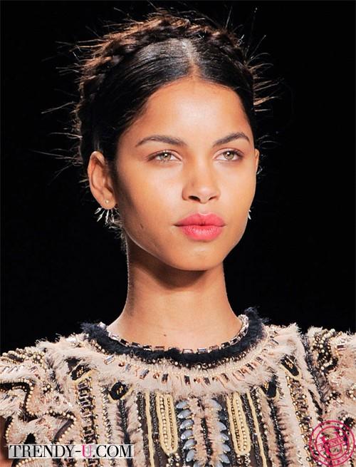 Модные косы от Naeem Khaan 2014