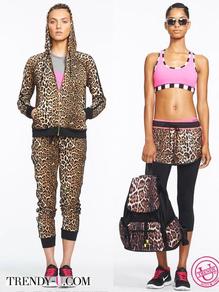 Женские спортивные костюмы с тигровым принтом 2014