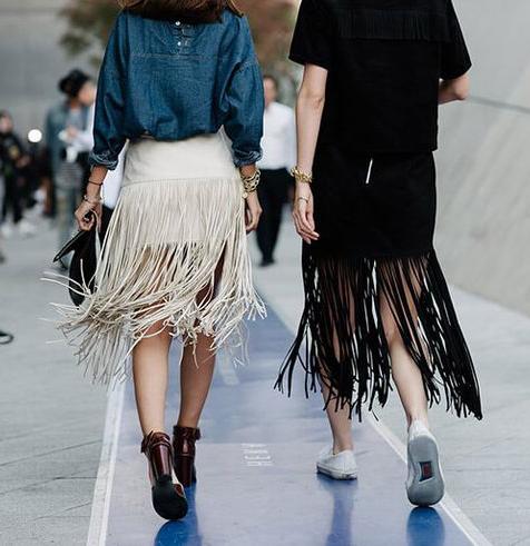 Городские модницы