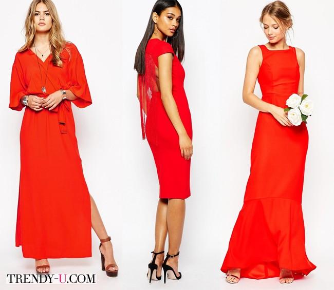 Недорогие красные платья из интернет-магазина