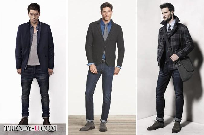 Вот так носят мужские джинсы!