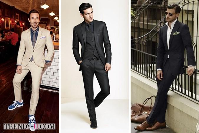 Мужчины в костюмах