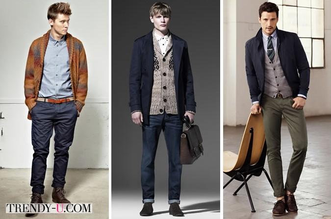 Рубашки в сочетании с повседневной одеждой