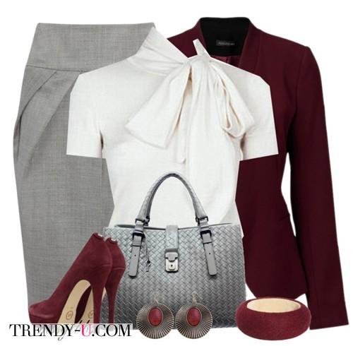 Комплект одежды для собеседования в нестрогом деловом стиле