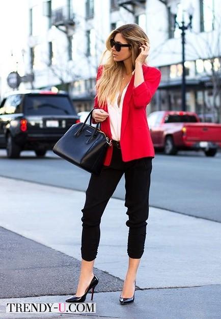 Чиносы, пиджак, рубашка